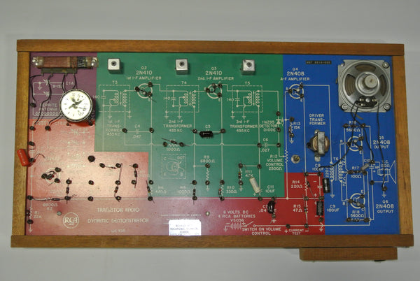 RCA Transistor Radio Dynamic Demonstrator