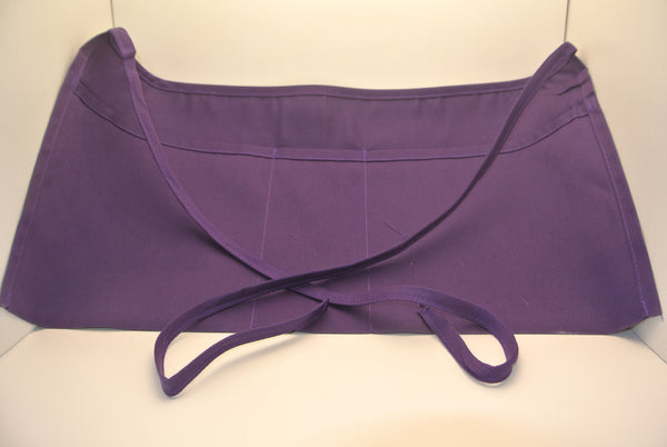 Purple Waist Apron