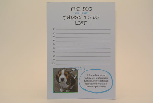 Doggy To Do List