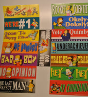Simpsons Bumper Stickers