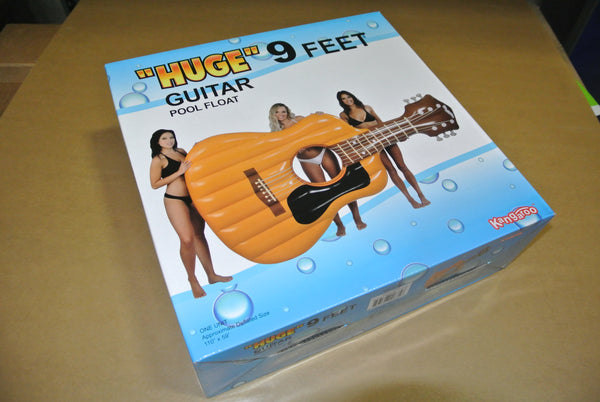 9ft Inflatable Guitar Float