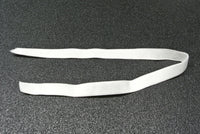 12 Pack White Elastic