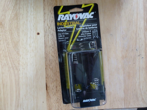 Rayovac industrial lantern battery adapter