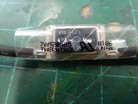 Thermtrol 7AM205B5 thermal fuse