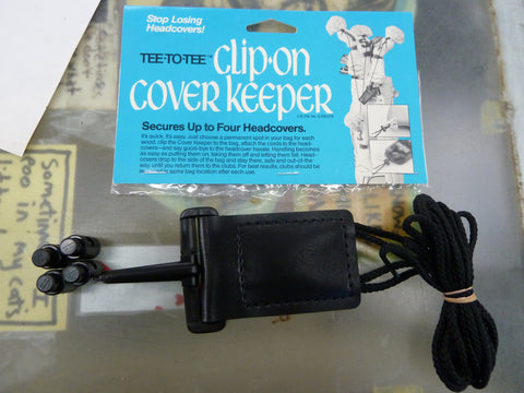 Clip On Cover Keeper (it's for golf.)