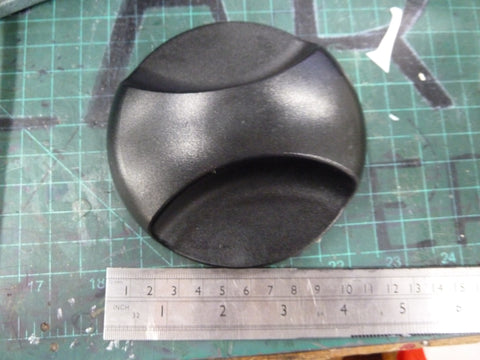 Big Black Plastic Knob