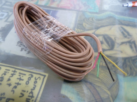 Roll of telephone wire