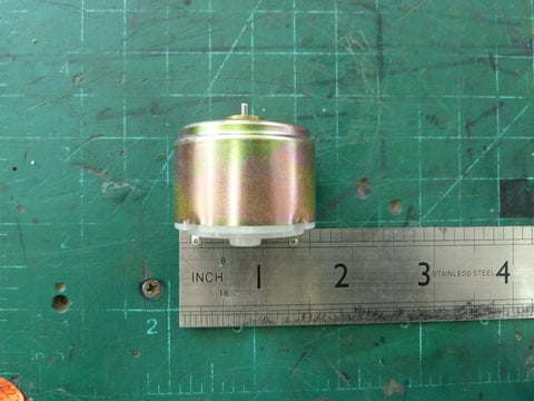 Little 1.2VDC Toy Motor