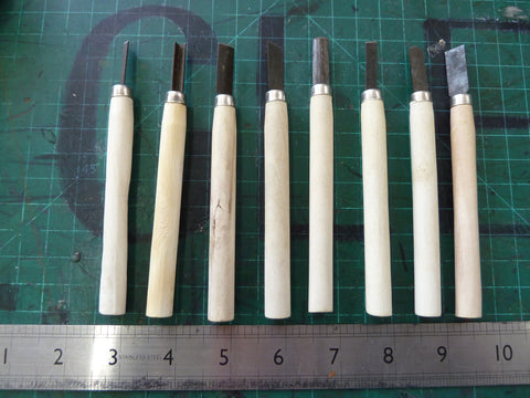 8 pack Wood Carving Chisels