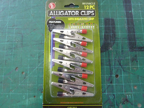 12 pc. Alligator Clips