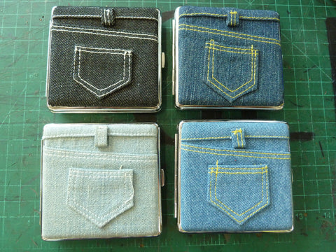 Denim Cigarette Case
