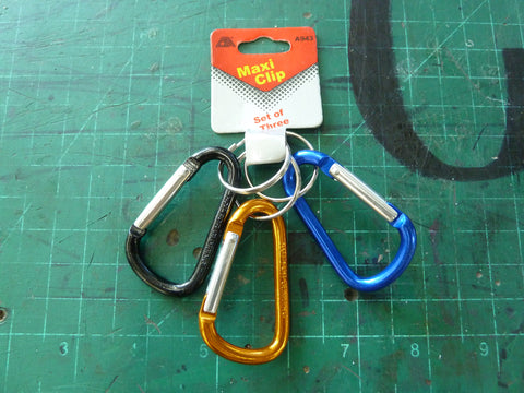 3 Pack of Carabiners