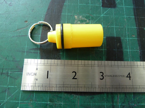 Little Yellow Container Keychain