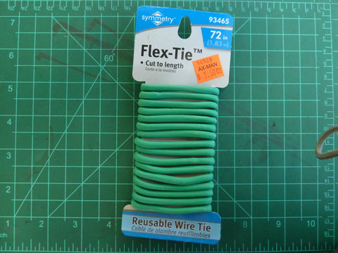 Flex-Tie cut to length reusable wire tie