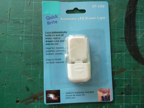 Quick Brite Automatic Drawer Light