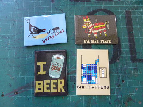 Witty Fridge Magnets