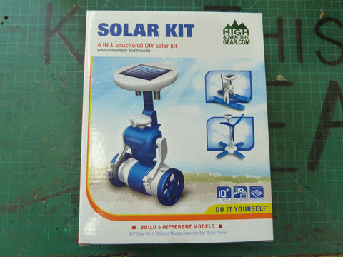 6 in 1 Educational DIY Solar Kit
