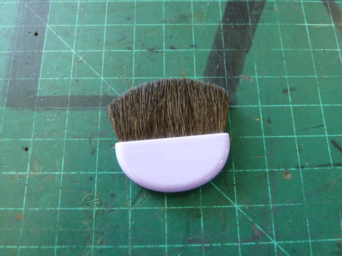 Tiny Purple Makeup Brush