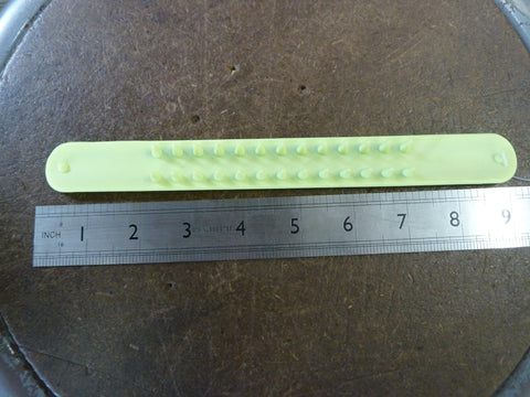 Glow in the Dark Spikey SPIKY Slap Bracelet