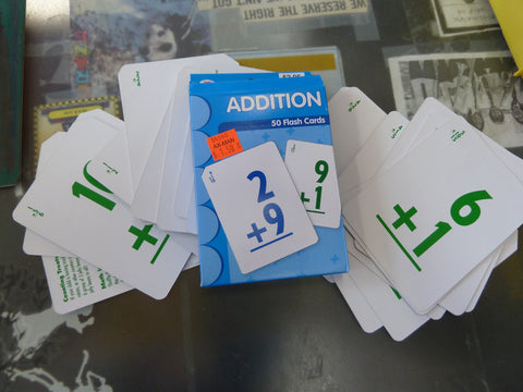 50 Pack of Addition Flash Cards