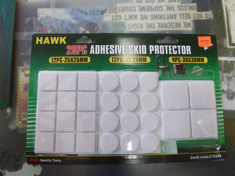 28 Piece Adhesive Skid Protectors