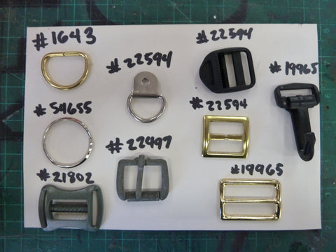 Buckles, Clips, and Fasteners