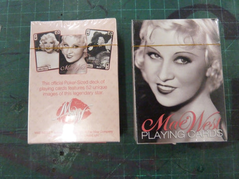 Mae West Playing Cards