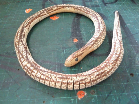 Wooden Wiggle Snakes