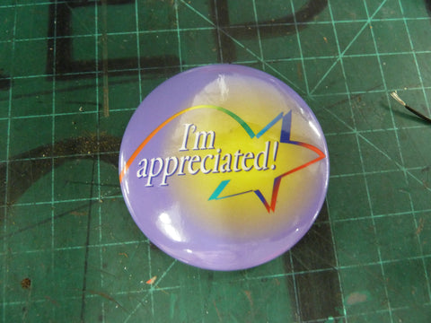 """I'm Appreciated"" Pin"