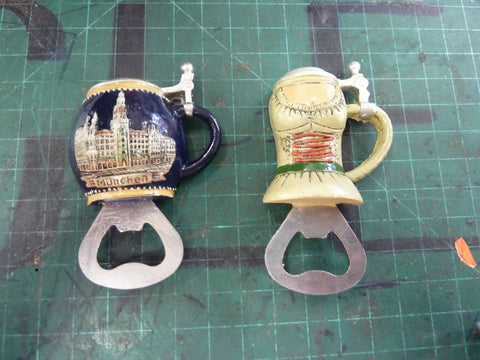 Magnetic Beer Stein Bottle Openers
