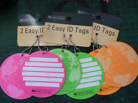 Luggage Tags Set of 2