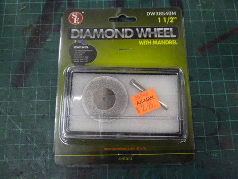 "1 1/2"" Diamond Cutting Wheel"