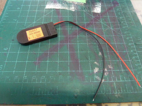 3V Battery Case with 2 Leads