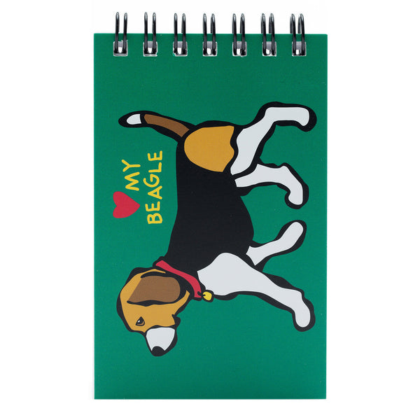 Beagle Spiral Notepad