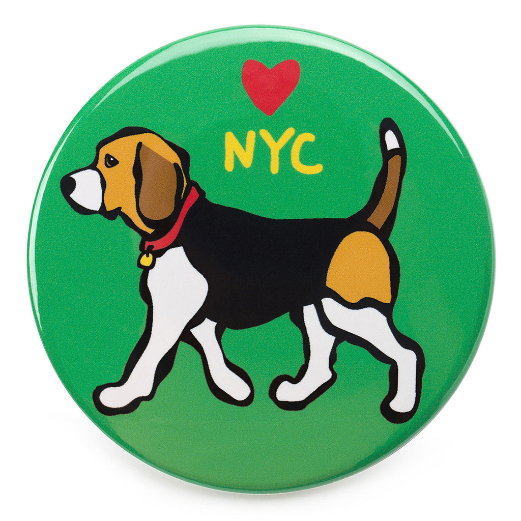 NYC Beagle Magnet