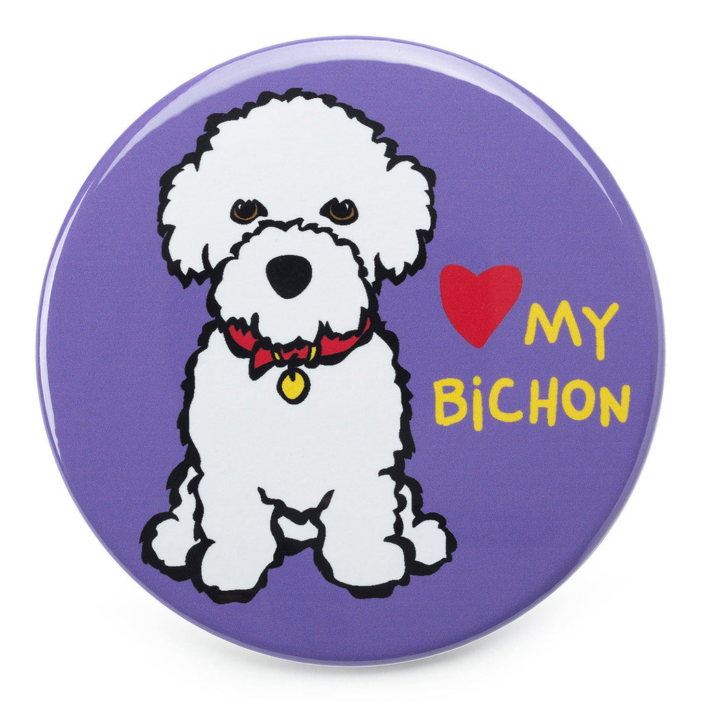 Love my Bichon Magnet