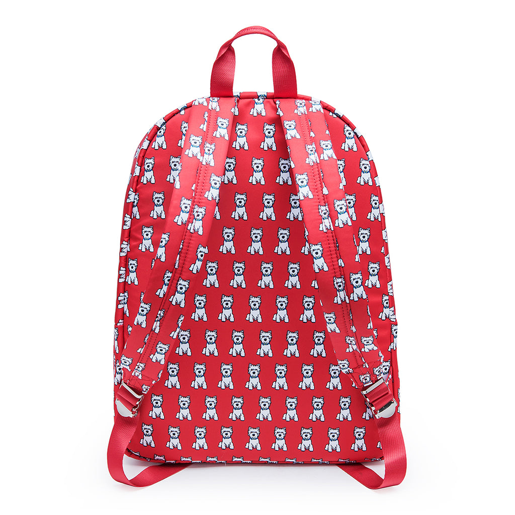 Westie Pattern Backpack