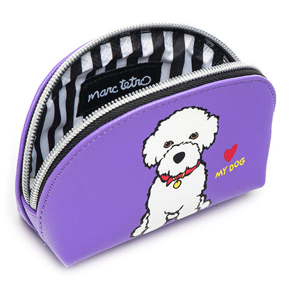 Bichon Cosmetic Case - Mini