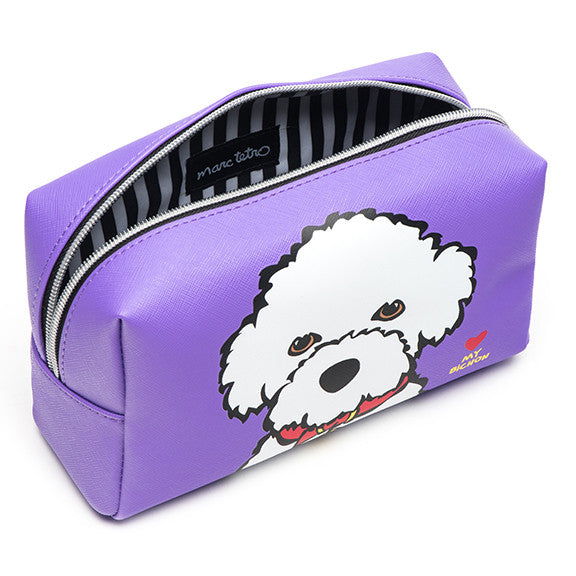 Bichon Cosmetic Case - Large