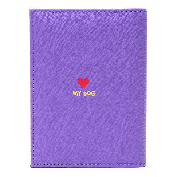 Bichon Passport Cover