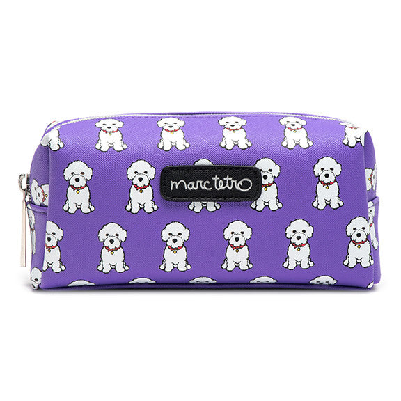 Bichon Cosmetic Case - Small