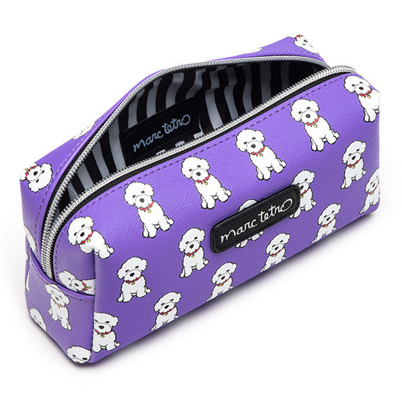 Bichon Cosmetic Case- Small