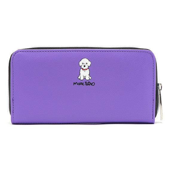 Bichon Zipper Wallet- Large