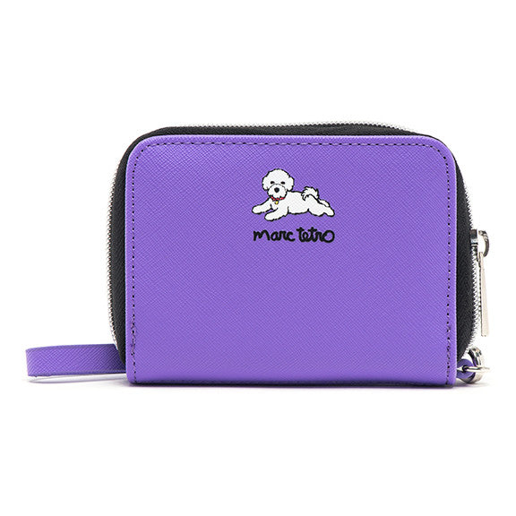 Bichon Zipper Wallet- Small