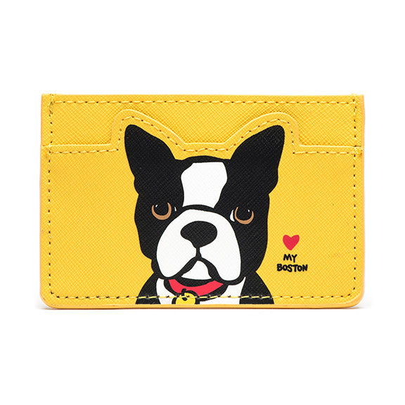 New! Boston Terrier Cardholder