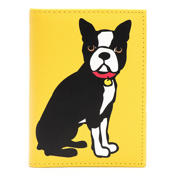 Boston Terrier Passport Cover
