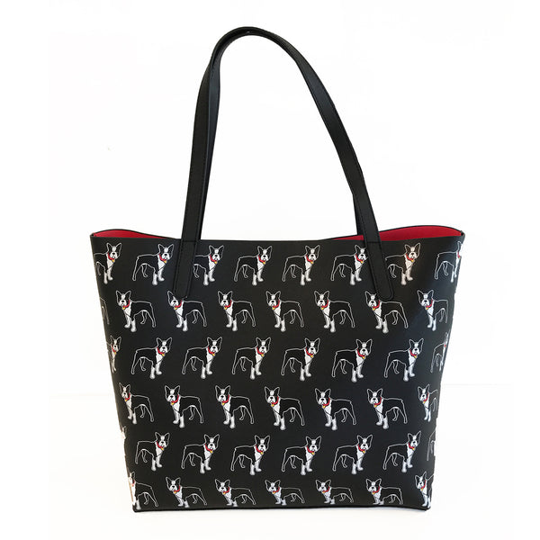 SALE! Boston Terrier Pattern Tote Bag