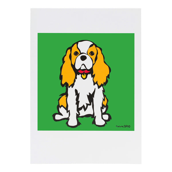 Cavalier King Charles Greeting Card