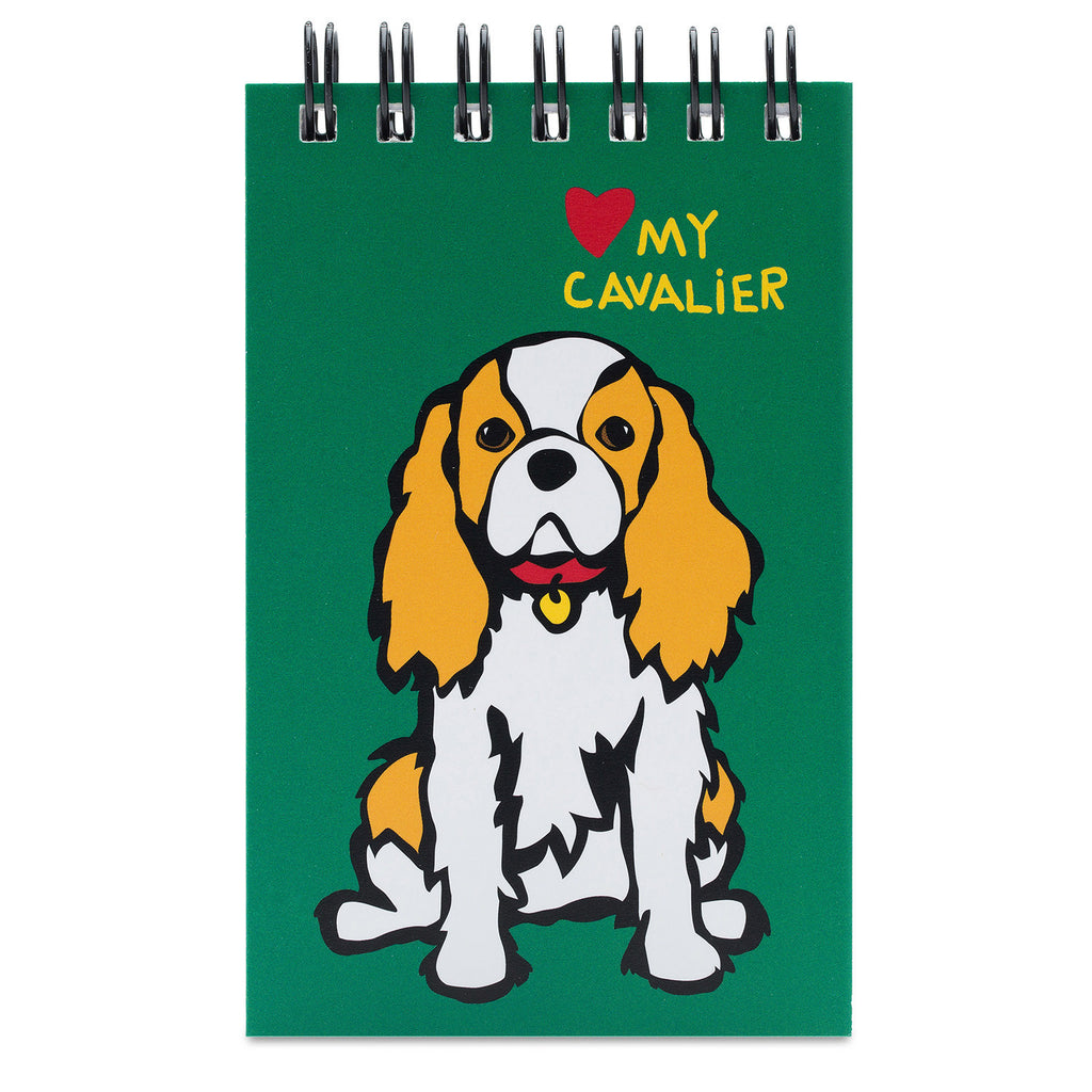Cavalier King Charles Spiral Notepad