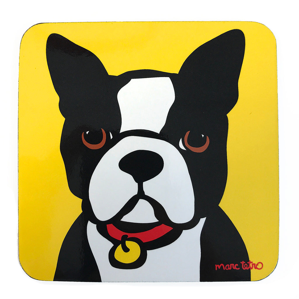 SALE! Boston Terrier Coaster